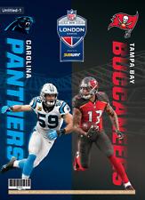 Carolina Panthers v Tampa Bay Buccaneers Official NFL Wembley Programme 14/10/19