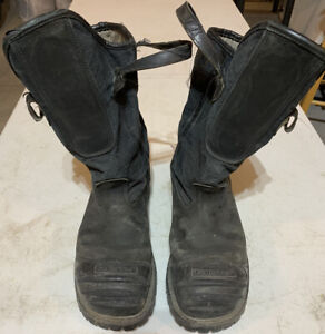 Used Leather Firefighter Boots