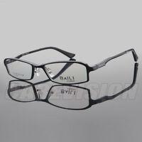 Men's Full Rim Aluminum Magnesium Alloy Eyeglasses Frames Optical RX Lens Able