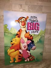 DISNEY'S PIGLETS BIG MOVIE LITHOGRAPH