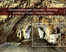 """Austria - Slovenia JOINT Issue """"ADELSBERGER CAVE"""" MNH Mini Sheet MS 2013"""