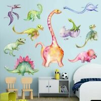 Dinosaurs Removable Wall Stickers Kids Boys Bedroom Home Decals Decor US own