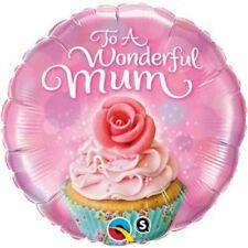 """To A Wonderful Mum Cupcake 18""""/46cm Foil Balloon Qualatex"""