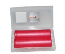 Sanyo NCR18650GA 3,6V Li-Ion-Akku 3500 mAh - 2er PREMIUM-BOX