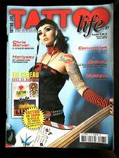 TATTOO Life n°27; Chris Garver/ Horiyasu/ Tatouage des Gang des prisons USA