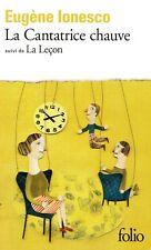 La Cantatrice Chauve ; La Lecon - Eugene Ionesco