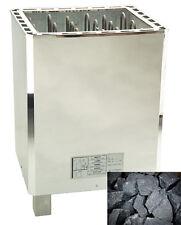 12KW 3 phase,Sauna Heater, Stainless Steel,  Sauna Rocks, Digital Controller,