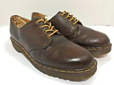 Dr. Martens 1561 Brown Leather Oxfords Men's Sz US13  UK12 Made in England