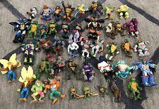 (43) Original Teenage Mutant Ninja Turtles 1980s & 1990s Loose Action Figure LOT
