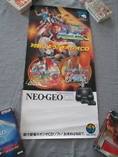 >>  FLYING POWER DISC WIND JAMMERS SSK 3 DUNK DREAM NEO GEO CD AES POSTER! <<