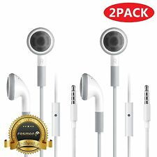 Fosmon 2X Earphone Earbud w/ Mic Bass for Samsung Galaxy S8 Plus S7 Edge Note 8
