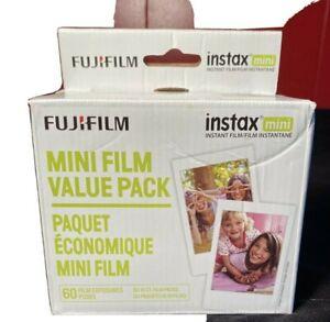 Fujifilm Instax Mini Instant Film Value Pack 60 Pictures