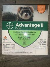 Bayer Advantage Ii Ferret Flea Prevention & Treatment 1lb+ 1 Unused Dose (A2)