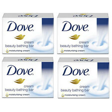 Dove Cream Beauty Bathing Soap Bar, 75g (Set of 4)