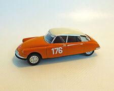 Citroën DS 19 Lacs, orange, NOREV, 1:64