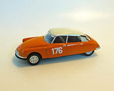 Citroen DS 19 Rally, naranja, NOREV, 1:64