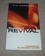 2005 REALITIES OF REVIVAL E A Johnston Gospel Folio Press Paperback