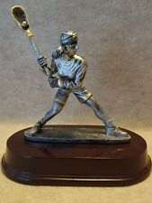 Female Lacross Resin Trophy - with a free personalized plaque