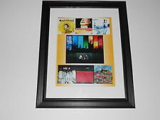 "Framed Radiohead Album Covers 1993-2003 Kid A, Pablo Mini-Poster, 14"" by 17"""