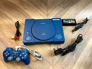 Blue Sony PlayStation 1 DTL-H1102 Debugging Station Devkit Development Kit PS1
