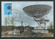 BELGIEN MK 1972 WELTRAUM SATELLIT SPACE MAXIMUMKARTE MAXIMUM CARD MC CM d2684