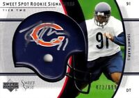 Tommie Harris Chicago Bears 2004 Upper Deck Sweet Spot Rookie Signatures 473/699
