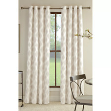 "Miller Curtains Anaheim Insulating 50"" x 84"" Grommet Curtain Panel Natural Taupe"