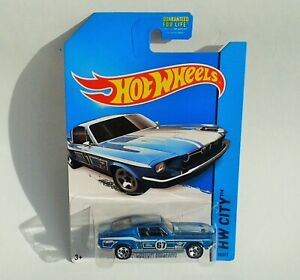 HotWheels Diecast 2015 - '67 FORD CUSTOM MUSTANG - 2015 RELEASE - NEW & Sealed