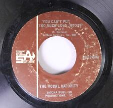 Rock Nm! 45 The Vocal Majority - You Can'T Put Too Much Love Into It / You Can'T
