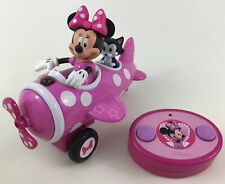 Minnie Mouse Remote Control Airplane Plane Toy Tested With Batteries Disney Jada