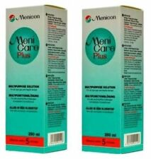 500ml Meni Care Plus Twin Pack 2 x 250ml Menicare Menicon for RGP contact lenses