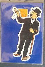 Magnet Tintin et Milou Dupond (ou Dupont) avec pendule Hergé Moulinsart