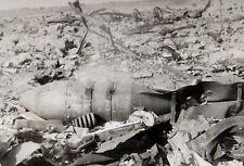Foto Schimsk Bahnhof von Stuka Bomben zerstört Russland WK 2 WW2 Photo ( I-413