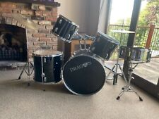 More details for dragon drum kit used.