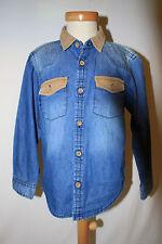 ღஐ Rebel Jeans Hemd mit Cord Einsätzen  TOP Gr. 110 116   ஐღ
