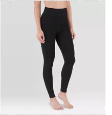 Wander by Hottotties Black Women's Velvet Lined Leggings S