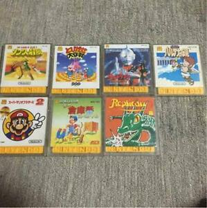 Nintendo Famicom Disk System Set Zelda KID ICARUS Ultraman Mario
