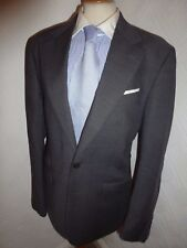 MENS CHARLES TYRWHITT GREY SLIM WINTER FALL WOOL SUIT JACKET 40 WAIST 36 LEG 32