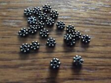 Bronze tone flat daisy spacer beads approx 3mm x  200.    R