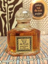 Vintage 1984 Vol de Nuit Guerlain SEALED 1/2 oz 15 ml Pure Parfum - OLD FORMULA