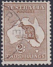 Kangaroos 1913 [1st Wmk] 2/- Brown CTO