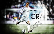 Cristiano Ronaldo Real Madrid Super Star Soccer Player Poster 24x32Inch