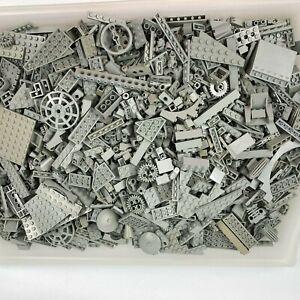 LEGO 1.1Kg Old Light Grey Assorted Plates, Bricks, Parts & Pieces MOC Star Wars