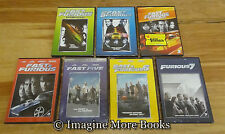The Fast & and the Furious ~ 7 NEW/SEALED DVDs ~ Fast & Furious 1 2 3 4 5 6 7