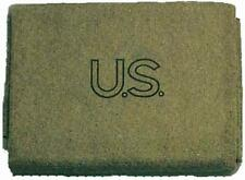 Military Outdoor Clothing U.S. Style Wool 3-Pound Blanket 60x80-Inch