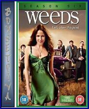 WEEDS - COMPLETE SEASON 6  **BRAND NEW DVD **