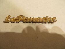 """EMBLEM ORNAMENT """" Le PANACHE """" GOLD"""