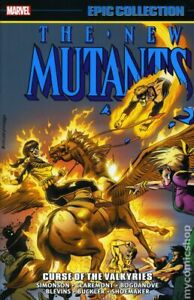 New Mutants Curse of the Valkyries TPB Epic Collection #1-1ST FN 2018