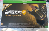 Guitar Hero Live  Supreme Party Edition For Xbox One. New! Sealed