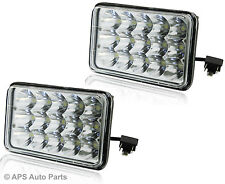 2x 45W 15 LED Work Light Lamp  Flood Beam Jeep Tractor Truck Lorry 12v 24v CE